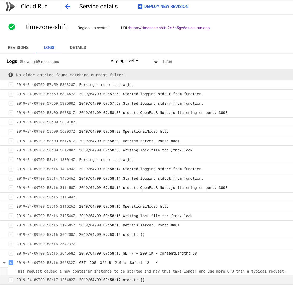 Run your OpenFaaS Functions on Google Cloud Run for free